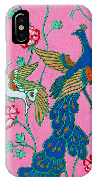 Peacocks Flying Southeast IPhone Case