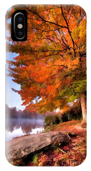 Peak Of Color - Blue Ridge Parkway Price Lake IPhone Case