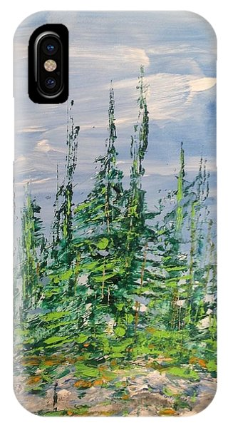 Peak Of Pines IPhone Case