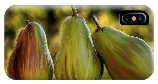 Pear Buddies IPhone Case