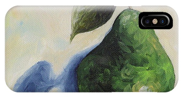iPhone Case - Pear In The Spotlight by Torrie Smiley