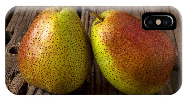 Pears iPhone Case - Pear Still Life by Garry Gay