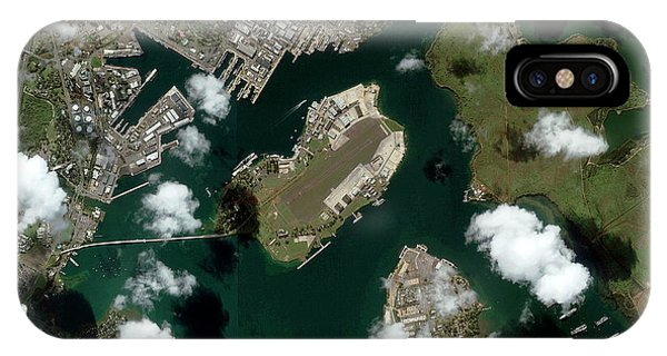 Pearl Harbour Phone Case by Geoeye/science Photo Library