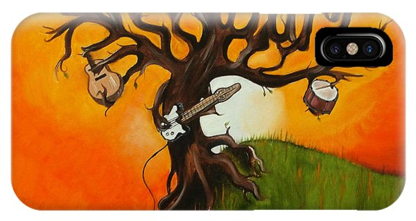 Pearl Jam iPhone Case - Pearl Jam Tree by Tarah Davis