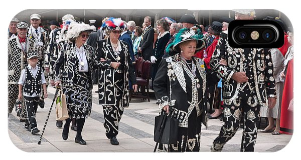 Pearly Kings And Queens Parade. IPhone Case