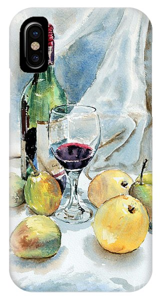 Pears And Wine IPhone Case