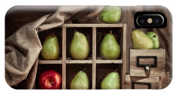 Pear iPhone Case - Pears On Display Still Life by Tom Mc Nemar