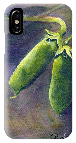 Peas On The Vine IPhone Case
