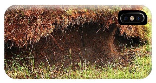 Upland iPhone Case - Peat Bog by Cordelia Molloy