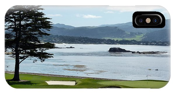 Pebble Beach 18th Green Carmel  IPhone Case