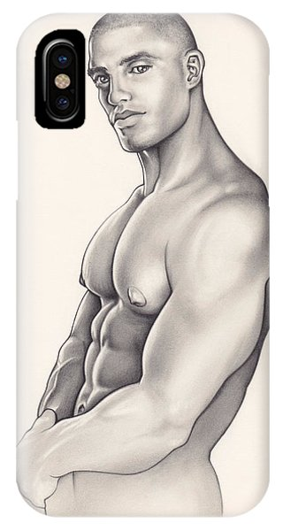 Pecs Phone Case by Rudy Nagel