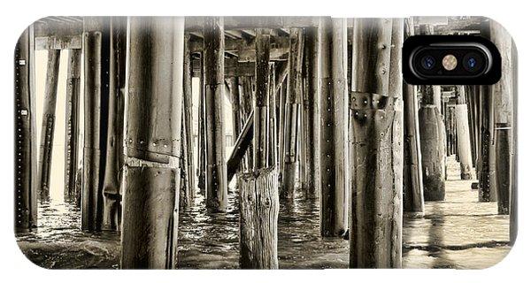 Peeking Under The Pier By Diana Sainz IPhone Case
