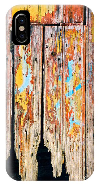 Seamless iPhone Case - Peeling Door by Carlos Caetano