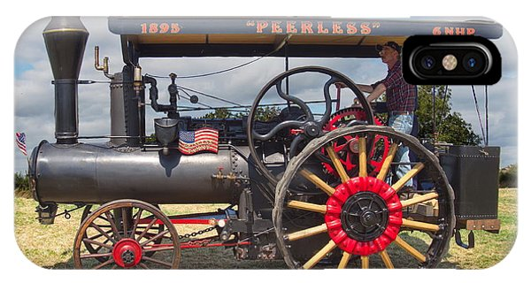 Peerless Steam Traction Engine IPhone Case