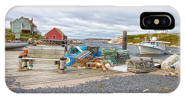 Peggy's Cove 2 IPhone Case