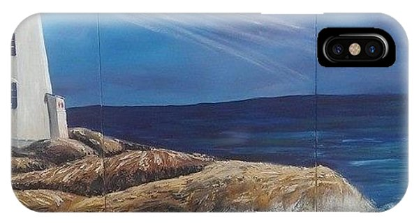 Peggy's Cove Phone Case by Donna Bird