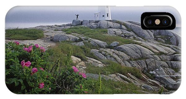 Peggy's Cove Lighthouse Nova Scotia Canada IPhone Case