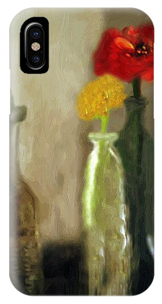Peggy's Flowers IPhone Case