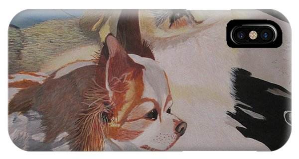 Peke And Chi IPhone Case