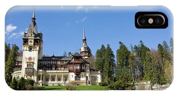 Peles Castle, Sinaia, Carpathian IPhone Case