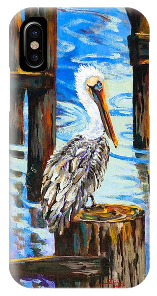 Pelican And Pilings IPhone Case
