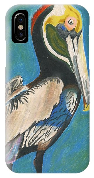 Pelican Blue IPhone Case