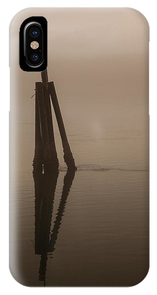 Pelican On A Stick IPhone Case
