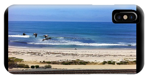 Pelicans And Rider IPhone Case