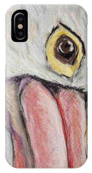 Pelican's Gaze - Study In Pastel IPhone Case