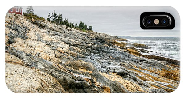 Pemaquid Point Lighthouse IPhone Case