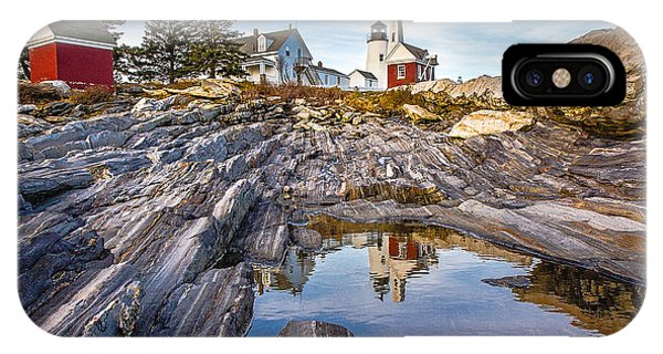 Pemaquid Reflection IPhone Case