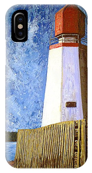 Pendlebury Lighthouse IPhone Case