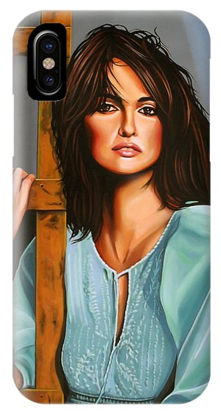 Sex And The City iPhone Case - Penelope Cruz by Paul Meijering