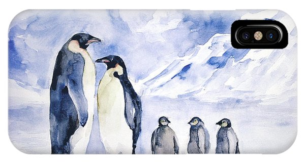 Penguin Family IPhone Case