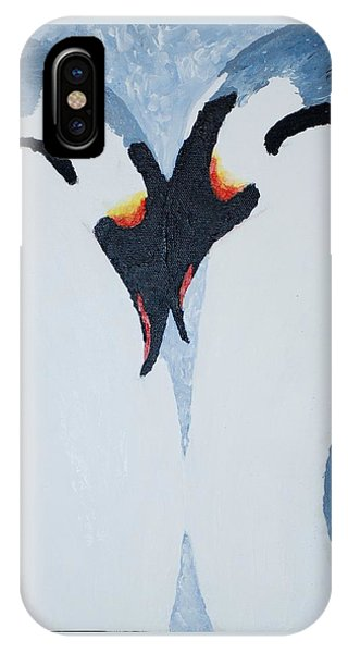 Penguin Love IPhone Case