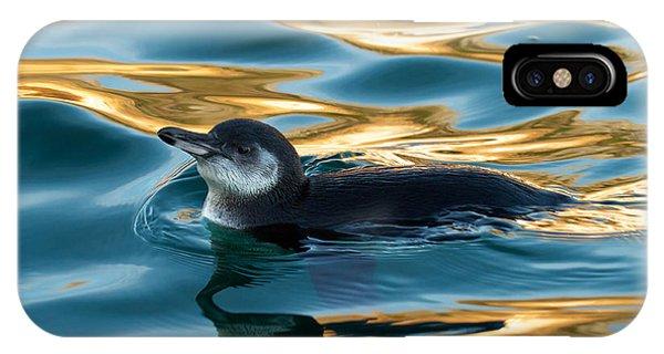 Penguin Watercolor 2 IPhone Case