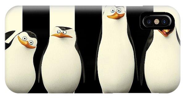 Penguins Of Madagascar IPhone Case