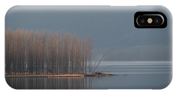 Peninsula Of Trees IPhone Case