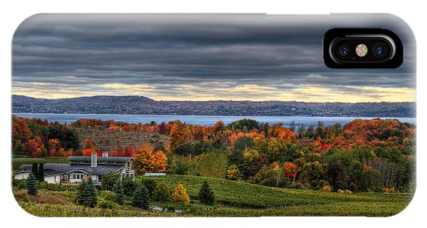 Peninsula Vineyard IPhone Case