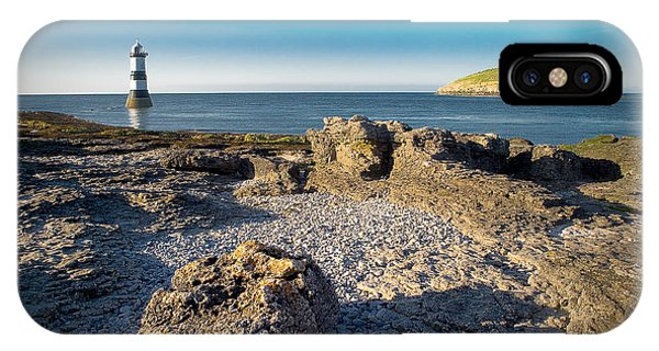 Penmon Lighthouse And Puffin Island IPhone Case