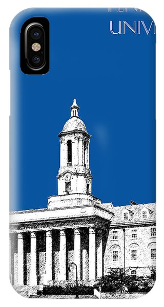Penn State University - Royal Blue IPhone Case