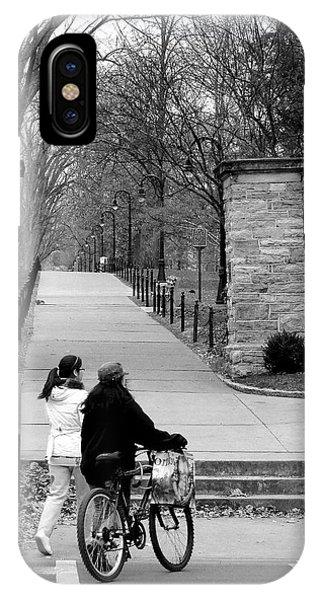 Penn State University Transportation IPhone Case