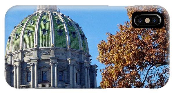 Pennsylvania Capitol Building IPhone Case