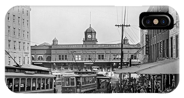 Pennsylvania Railroad Ferries IPhone Case