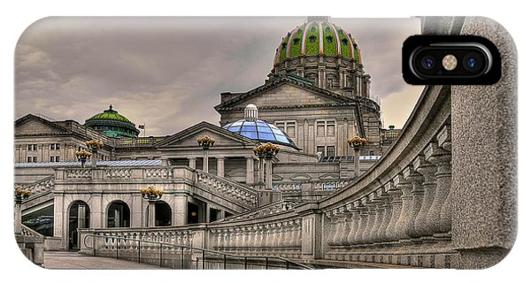 Pennsylvania State Capital IPhone Case