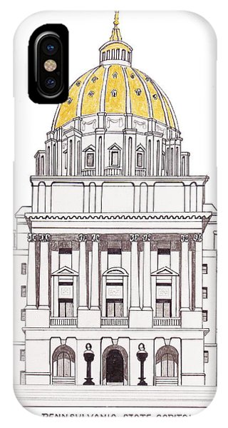 Pennsylvania State Capitol IPhone Case