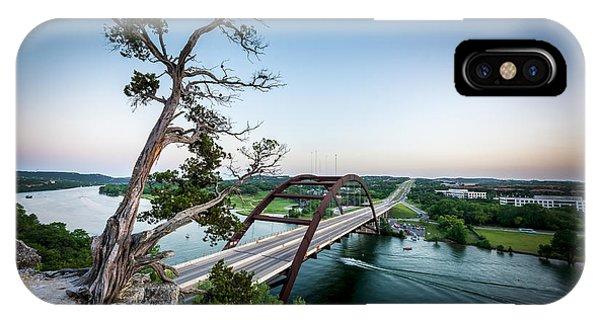 Pennybacker Bridge Austin IPhone Case