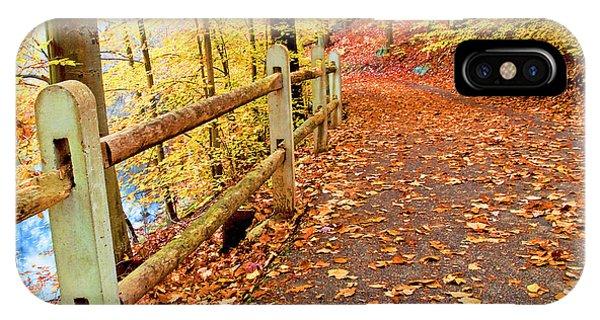 Pennypack Trail Philadelphia Fall IPhone Case