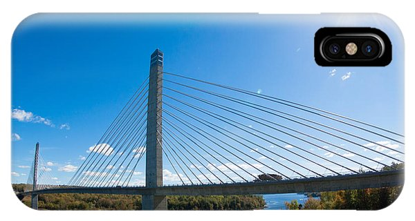 Penobscot Narrows Bridge - Maine IPhone Case