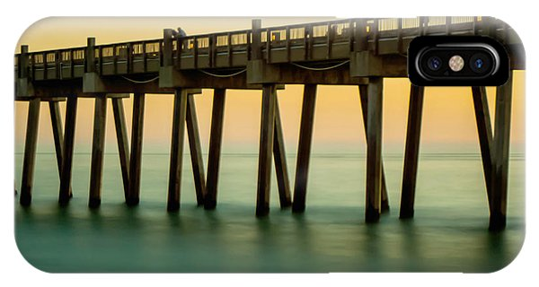 Pensacola Beach Fishing Pier IPhone Case